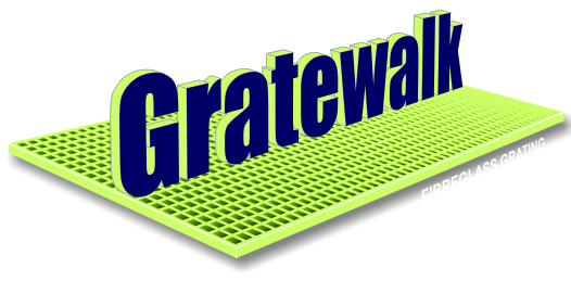 Fibreglass grating features